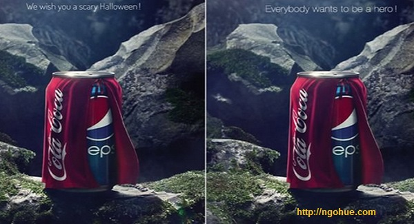Campaign troll competitor fail of Pepsi: Coke Coca Cola is 'scary', Pepsi received an unexpected return
