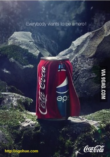 Coca Cola side hit back Pepsi